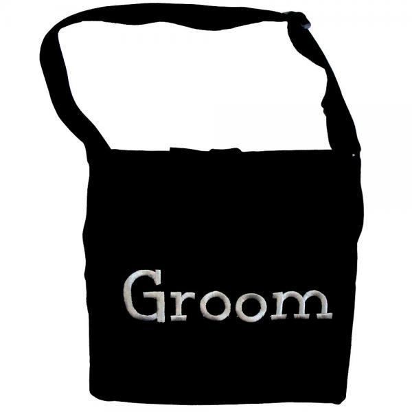 Embroidered Groom Apron
